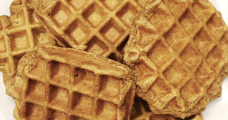Vegan Whole Wheat Waffles